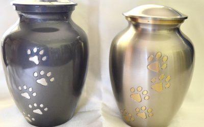Pewter Urns